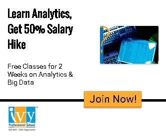 Learn Analytics, Get 50% Salary Hike! Get 2 Weeks Free Classes - Join Now!