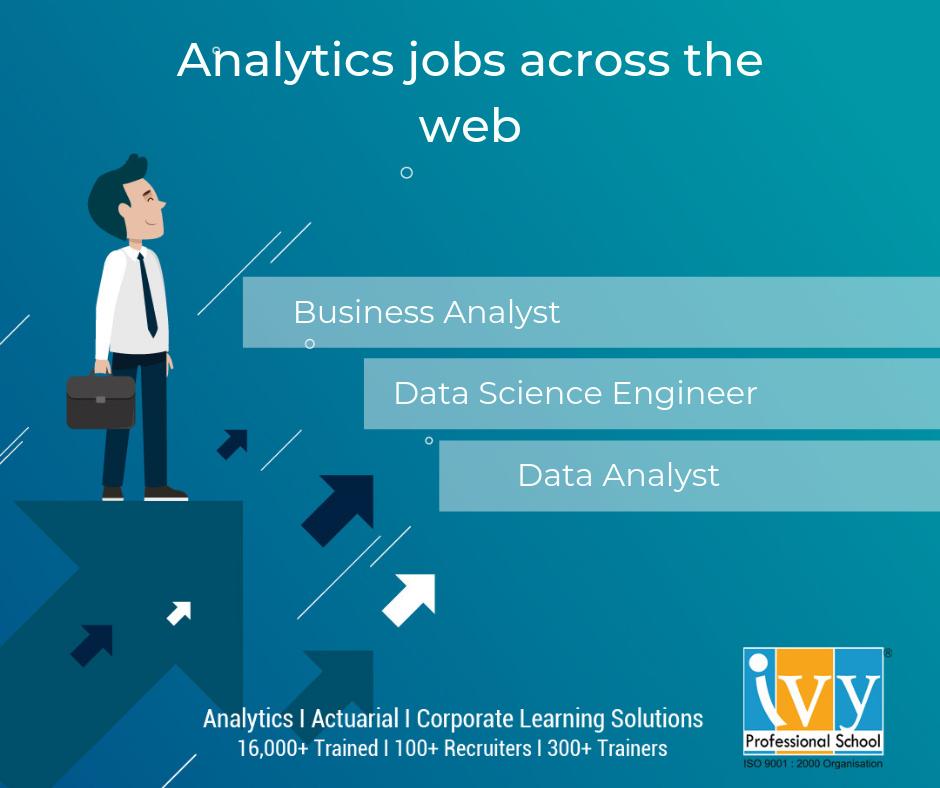 Analytics job for freshers - Ivy Pro School