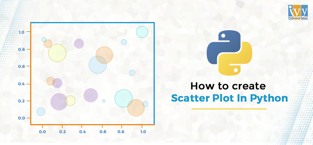 How to create a scatter plot in python - Ivy Pro School