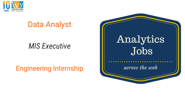 List of Analytics jobs for Freshers in Pune