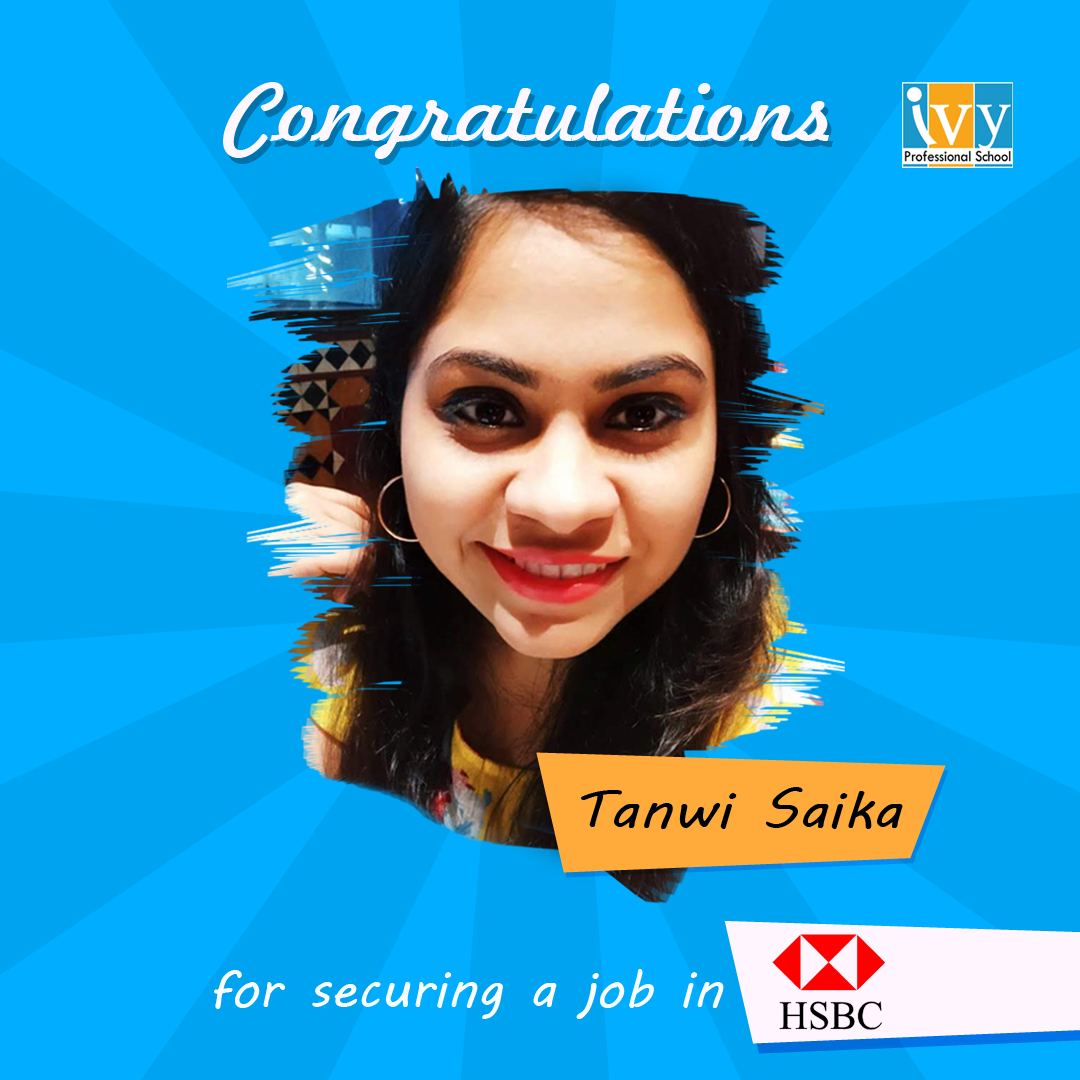Data science interview experience of Tanwi placed in HSBC - Ivy Pro School