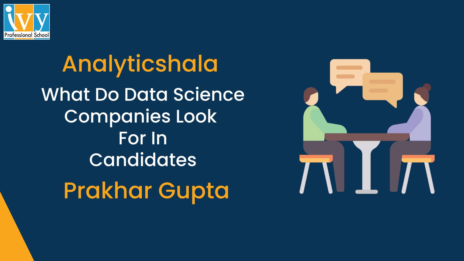 Data Science - Ivy Pro School