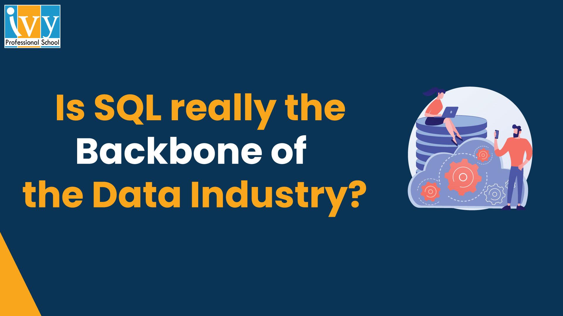 SQL in data science - Ivy Pro School